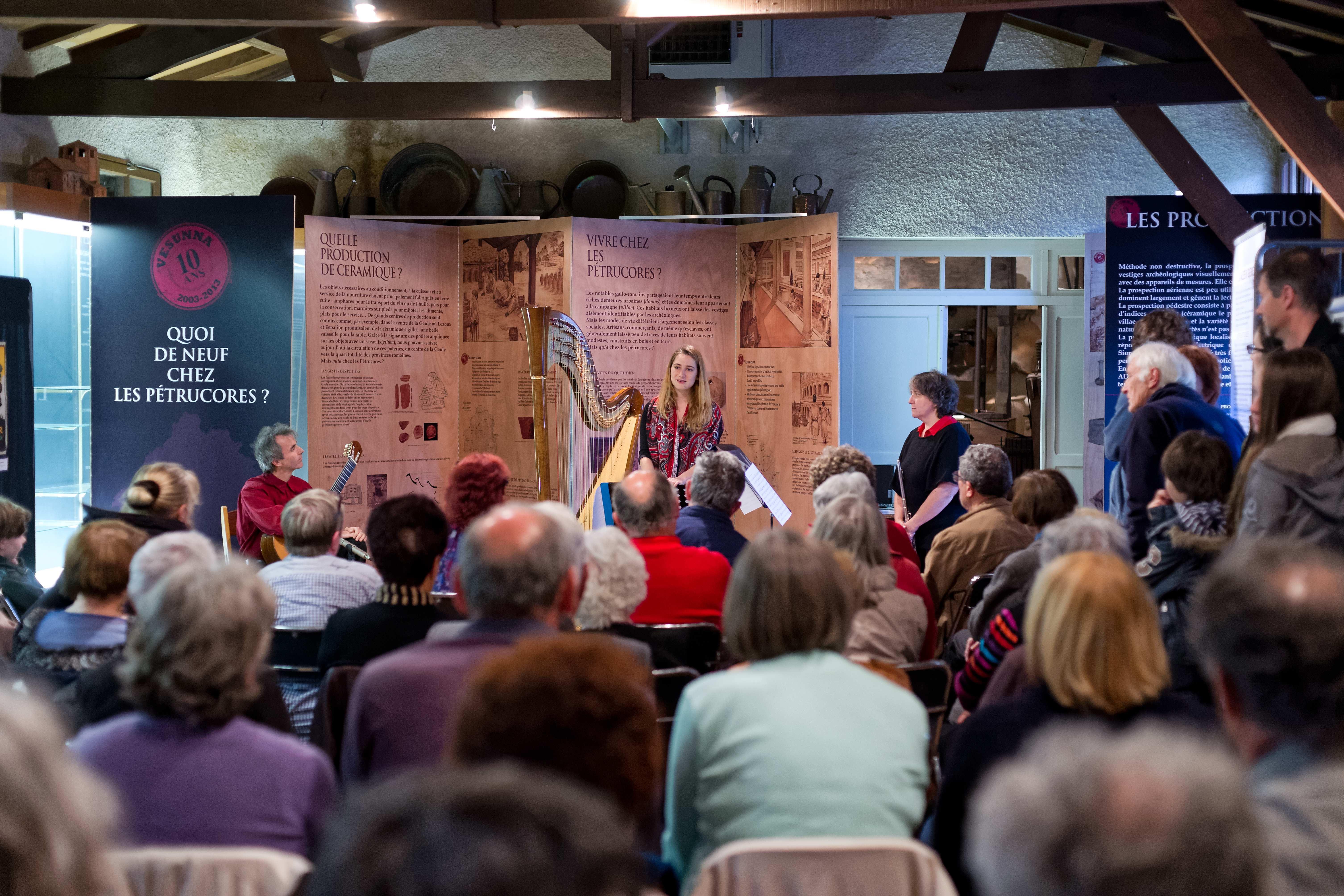 Ensemble Traversées in concert, South West France mini-tour