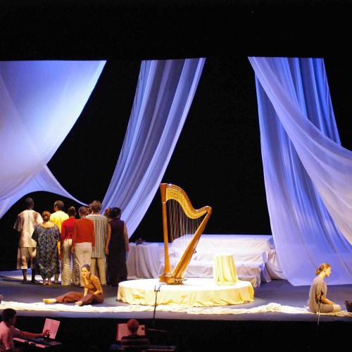 Maia Darme - tournée spectacle Pourquoi Moi Allemagne 2005