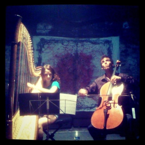 Maia Darme - concert au Culture Palace avec Liam Morrissey Ivry 2012