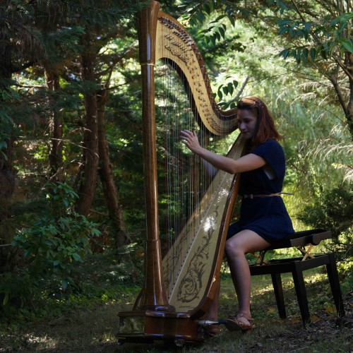 Maia Darme - concert forêt Aquitaine 2012