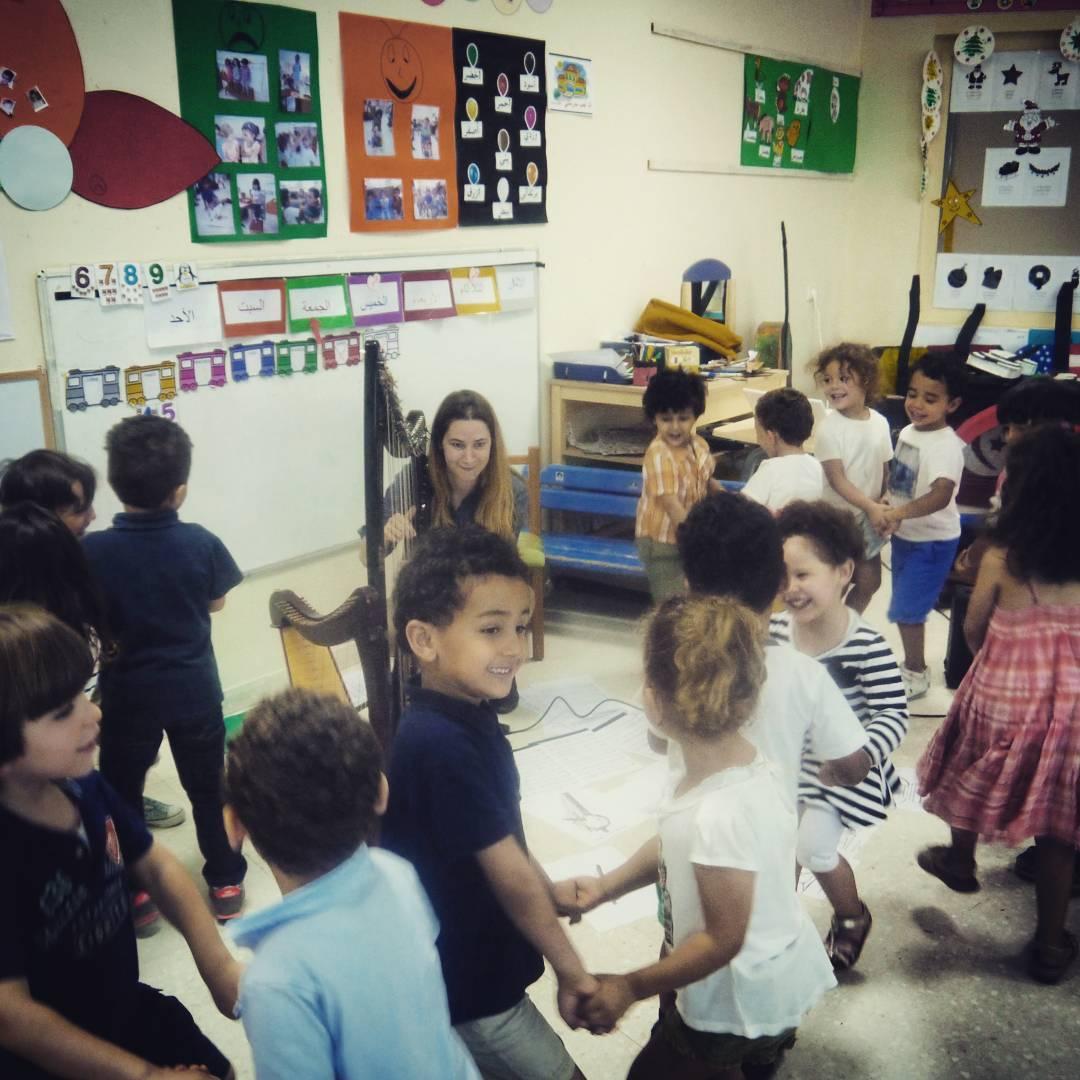 Tunisian kiddos dancing to Irish music. Oh the cuteness!