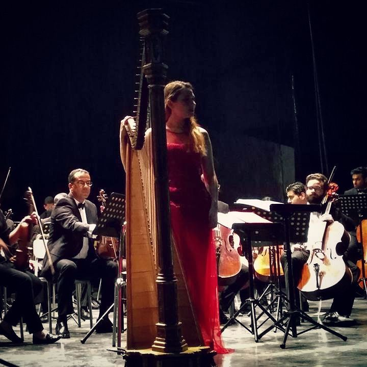 Last night, with the Tunisian Symphony Orchestra. Grand merci à tous les musiciens <3 Photo: @worldamor