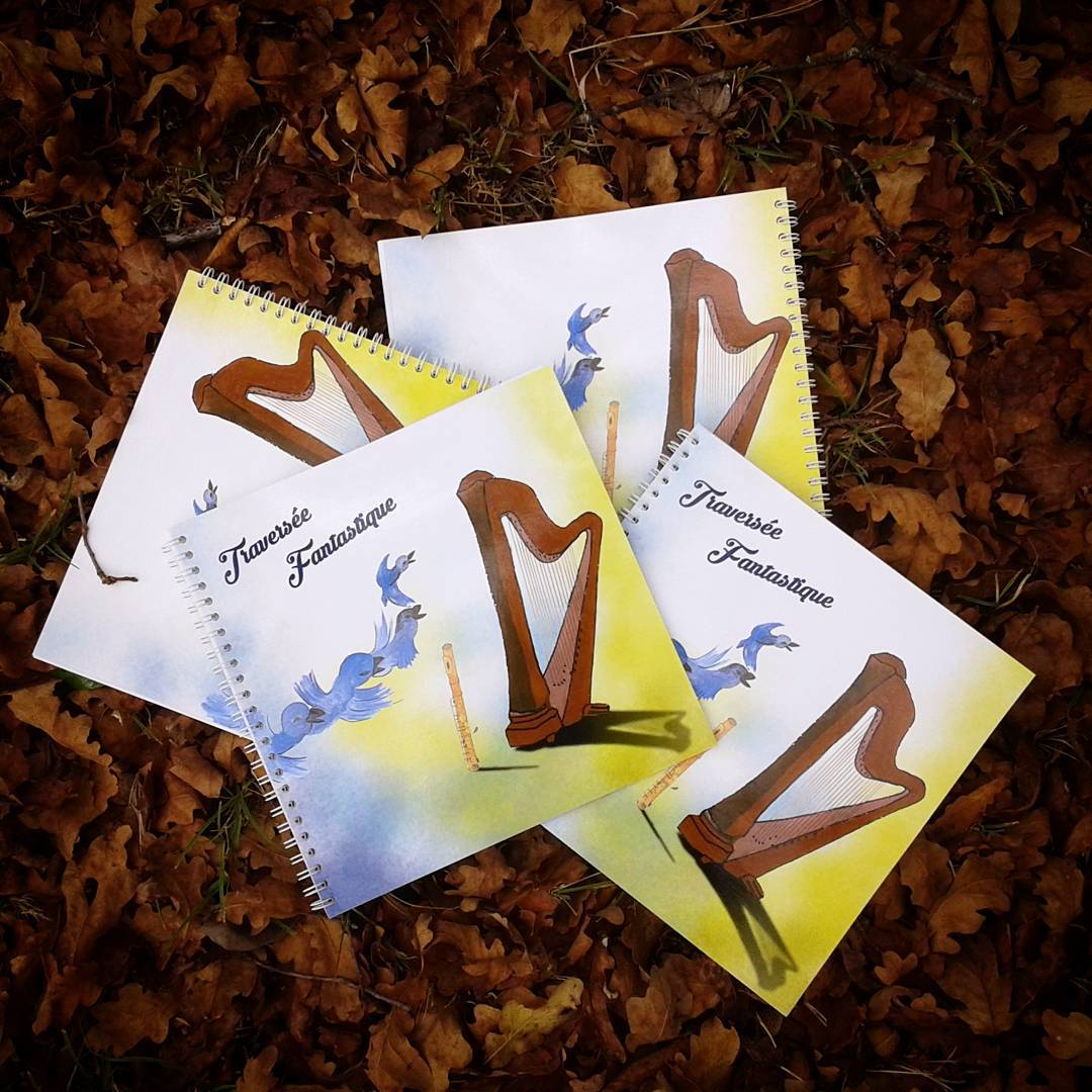 The book version of our musical tale has arrived, yay!  La version livre de notre conte musical pour les enfants est arrivée :)