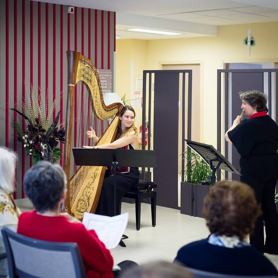 to New Year's Eve last week, playing at a retirement home. Heartbreaking to realize how lonely the holidays can be for some, but also a heart-warming reminder of how easily joy can be spread. Here's to a hopeful start to 2017!