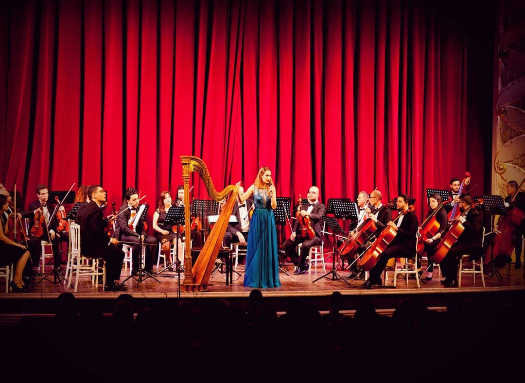Thank you to everyone who came last night and filled Tunis' municipal theater to the last seat!! Endless gratitude to the Tunisian Symphony Orchestra for their renewed trust and always warm welcome. 📸: Rached Cherif