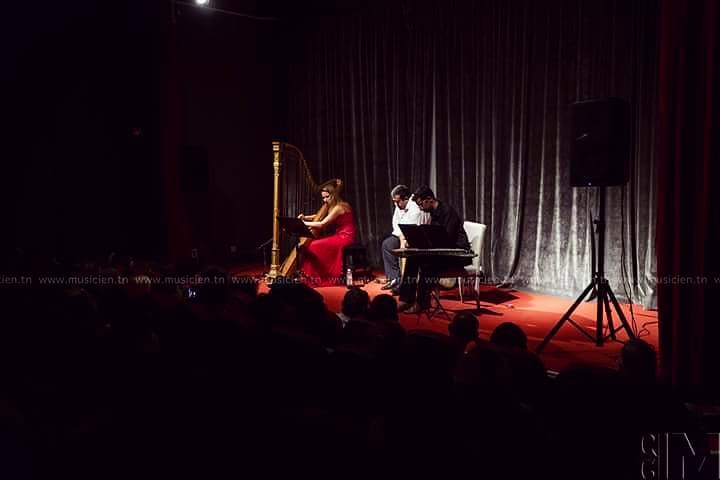 Thanks you all for coming yesterday night -- you were a treat of an audience to perform to! For those who couldn't be there or didn't manage to get in, we will be playing one last concert in La Marsa, at the Abdelliya Palace, tomorrow (Saturday 15 Sept) at 7:30pm!  Merci à tous d'être venus si nombreux hier soir ! C'etait un plaisir d'être avec vous ! Pour ceux qui n'ont pas pu venir ou qui n'ont pas pu rentrer, on rejoue demain (samedi 15 septembre) à 19h30 au palais el Abdelliya de la Marsa !