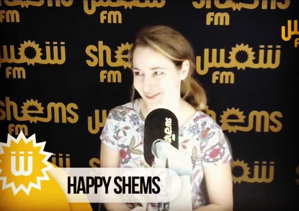 My first live interview in Arabic... I won't say I panicked, but I won't say I didn't either 🤣 @shemsfmofficiel thanks for having me and for handling my language issues so gracefully!! . .  Ma première interview en arabe...