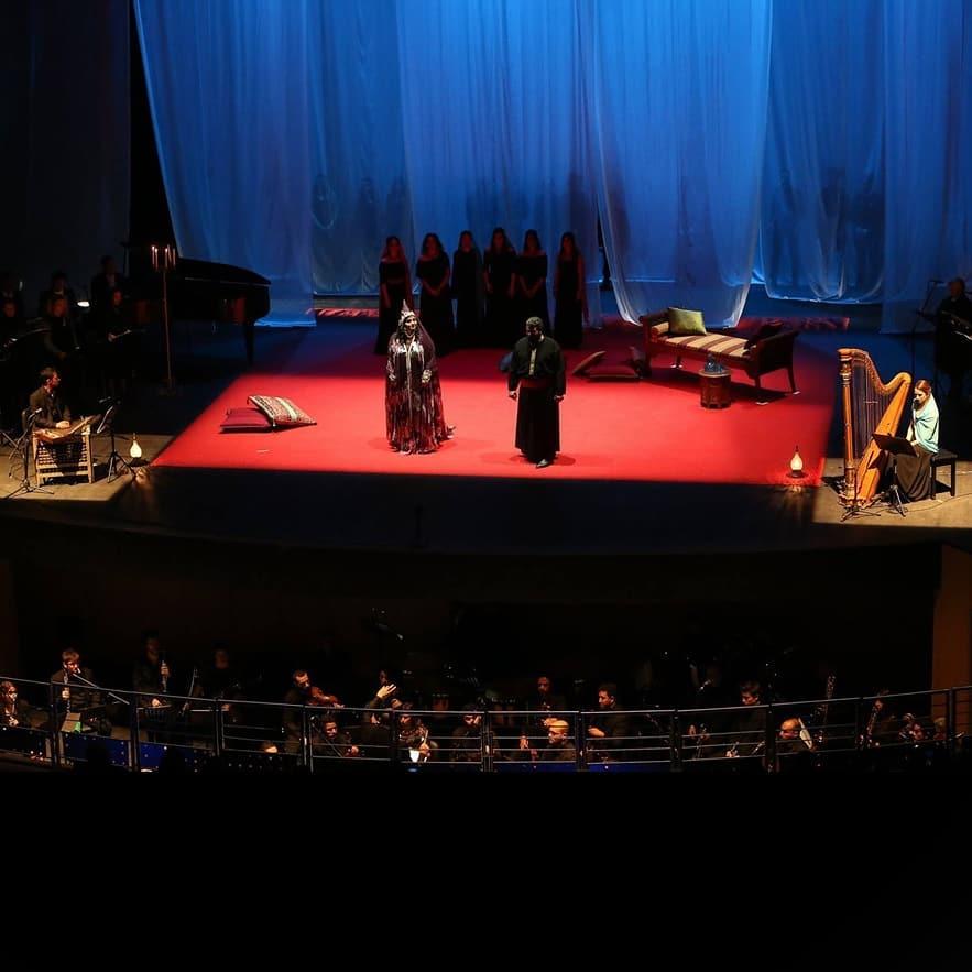 The Birth of a New Opera! Premiere of Sheherazade: The Other Night by Samir Ferjani   Première du nouvel opéra Shéhérazade : L'Autre Nuit de Samir Ferjani !