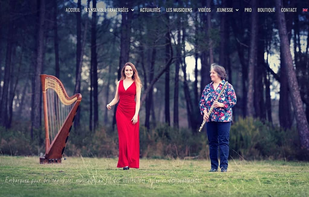 We have a new website for Ensemble Traversées!!  www.ensembletraversees.com  It's been a looong time coming and quite the daunting task, so it feels REALLY good to tick that off my to do list! 🥳 For musicians, some of our arrangements are available as pdf orders and we will add more soon! All my chamber music concerts with or are listed on there; watch this space for new dates as soon as we can all safely gather again  . . On a un nouveau site web pour l'Ensemble Traversés !! 🥳  www.ensembletraversees.com  . Vous pourrez y trouver les partitions de nos arrangements, les dates de tous mes concerts de musique de chambre en duo ou trio avec basson, flûte, orgue, qanun ou piano et tout un tas de vidéos  . .
