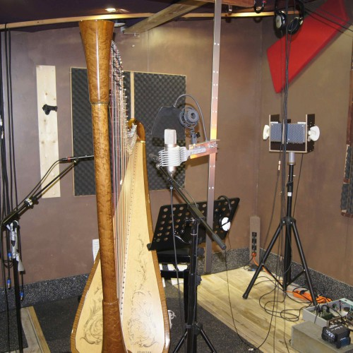 Maia Darme - recording at Studio 504 France 2013