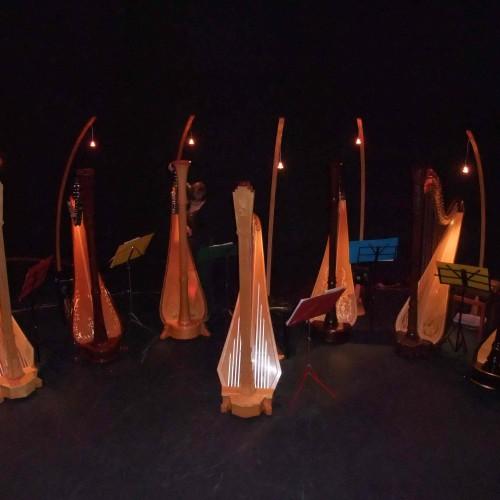Maia Darme - Seven Harp Ensemble concert Australia 2009