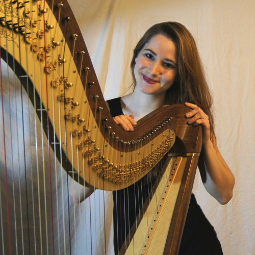 Maia Darme - harpiste Paris 2013