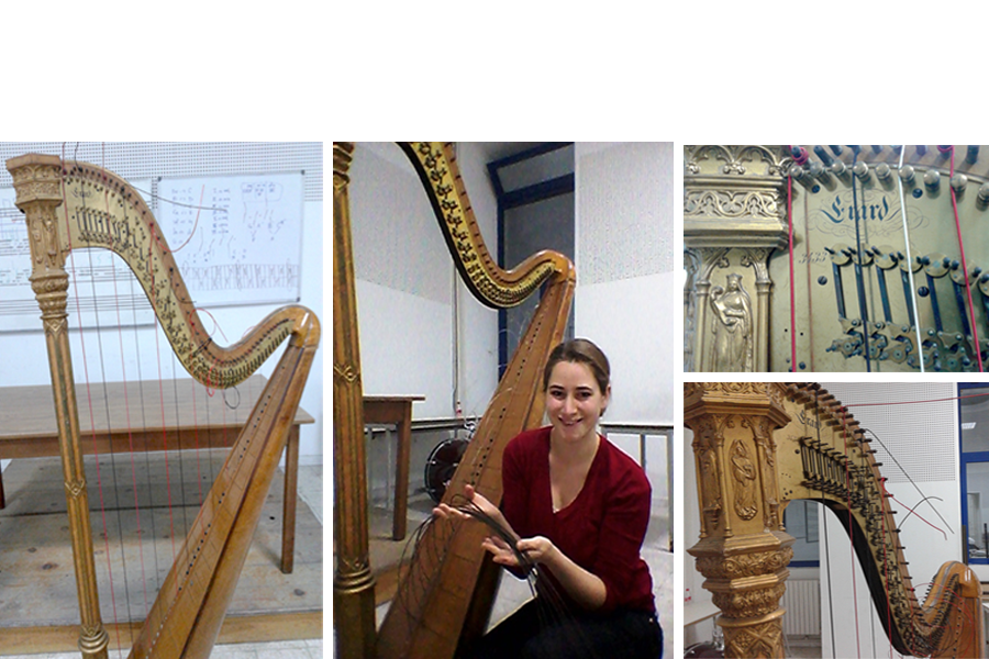 Introducing the Antique Erard Harp of the Tunisian National Symphony Orchestra