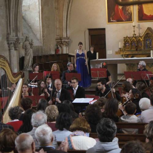 Maia Darme - concertos Boieldieu et Debussy avec l'orchestre Henri IV Paris 2013