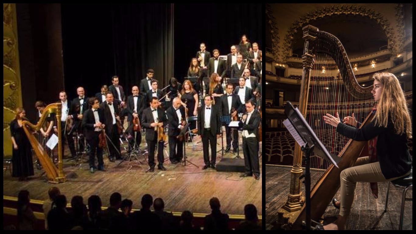 Performing Tchaikovski's superb harp cadenzas